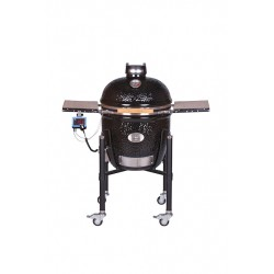 Monolith Le Chef BBQ Guru Edition Pro Series 2.0 met Onderstel, Zwart